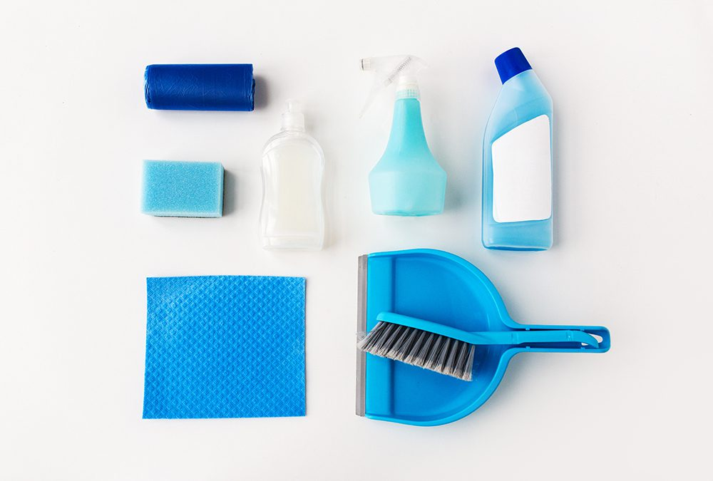 How to get cleaning supplies?
